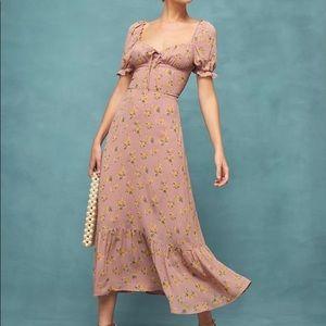 Reformation Cabernet Dress